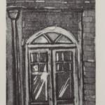 The Door Aquatint 10x15 cm